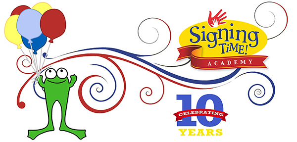 Signing Time Academy 10 Yer Anniversary